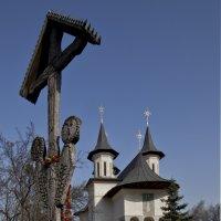 Пейзаж с церковью :: Ol Star