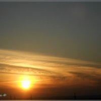 Прекрасный закат :: Вика Тихонова