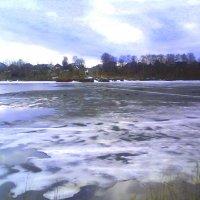 Весенний ледоход-2013 на реке Шексне :: Инна Носова
