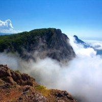 В облаках. :: Юрий Кущ