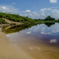 Ро́славль. Река Остёр! :: Павел Данилевский