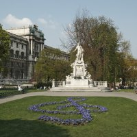 Памятник Моцарту :: Виктор Тараканов
