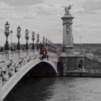 Мост Александра --3 в Париже. :: Ольга