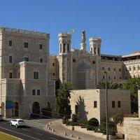 12.11.11 Notre Dame de Jerusalem, Нотр Дам де Жерюсалем. Взгляд со стен Старого города :: Борис Ржевский