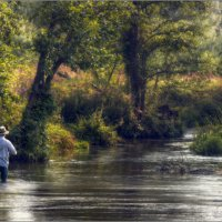 / Его встречало утро и тишина реки ... / :: Влад Соколовский
