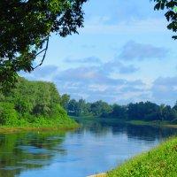 Река Двина, город Витебск, Беларусь... :: Юлия Семенченко