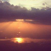Закат над Днепром :: Нина Бартоломеу