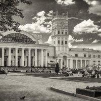 Харьковский железнодорожный вокзал. 1952 :: Игорь Найда