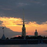 В моём городе белые ночи... :: Марина Павлова