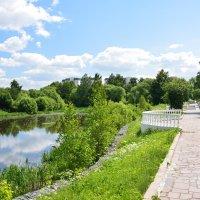 В Долгопрудном у пруда :: Борис Устюжанин