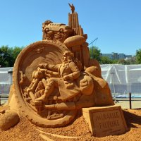 Выставка скульптур из песка :: Вероника Изотова