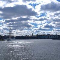 Стокгольм Трёхмачтовый корабль «АF Chapman» :: Swetlana V