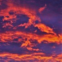 Небо отражает закат :: Сергей Чиняев