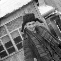 Сельский парень) 1990г. :: Евгений Золотаев