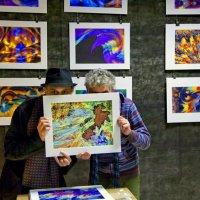 Выставку открыли  /  Видео с открытия :: Victor Vinocurov