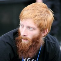 молодОЙ мужчина с рыжей бородОЙ :: Олег Лукьянов