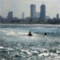 Фрагмент набережной Тель-Авива! :: Борис Херсонский