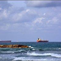 Морской пейзаж. :: Leonid Korenfeld