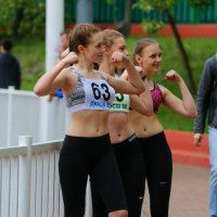 Спортсменки и просто красавицы! :: Александр Сивкин