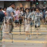 Hong Kong (без акцентирования главного объекта) (надуманный кажущийся ритм) :: Sofia Rakitskaia