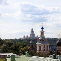 московские крыши :: Елена Аксамит