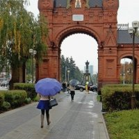 Дождь в родном городе :: Владимир