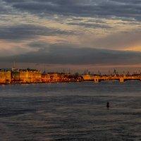 Вечерком ...(вид с Троицкого моста) :: Болеслав (Boleslav)