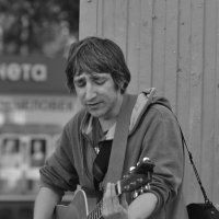 Уличный музыкант. :: cfysx