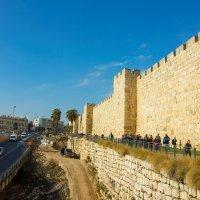 Иерусалим, стена Старого Города :: Игорь Герман