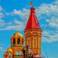 Памятник святому равноапостольному князю Владимиру. :: Elena Izotova