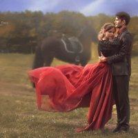 Прогулка на лошади :: Татьяна Семёнова