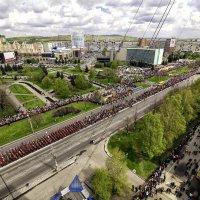 Парад Победы в Новокузнецке. 9 мая 2016 года :: Юрий Лобачев