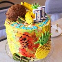 Гавайская вечеринка :: TATYANA PODYMA