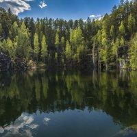 Озеро Тальков камень. :: Сергей Адигамов