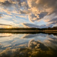 Весенний закат :: Наталия Горюнова