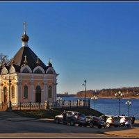 теплый вечер в Рыбинске :: Дмитрий Анцыферов