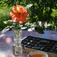 Приглашение к чаю. :: Любовь