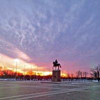 памятник Петру 1 в Стрельне :: Елена