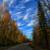 небо над дорогой :: Александр Преображенский