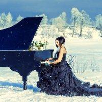 Мелодия зимы :: Анна