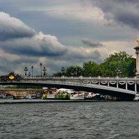 vit5  Мост Александра III, Париж :: Vitaly Faiv