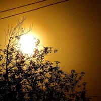 Неподалёку от луны. :: Андрей Смирнов