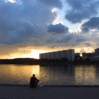 Майский вечер на любимом пруду :: Андрей Лукьянов