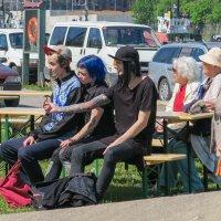 Два поколения. :: Igor Shoshin