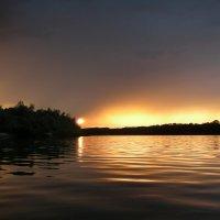 Река Дон, Чернушкина переправа, перед дождём :: Александр Игнатьев