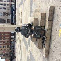 Памятник Пилигриму , Испания, Леон :: Ксения Черных