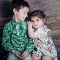брат и сестра :: Оксана Циферова