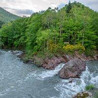 Место слияния рек Белой и Киша (Адыгея). :: Юлия Бабитко