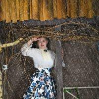 заброшенный домик в лесу :: Natalia Roshchektaeva