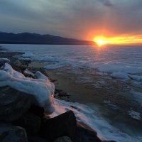 Закат на Байкале :: Svetlana Telnova